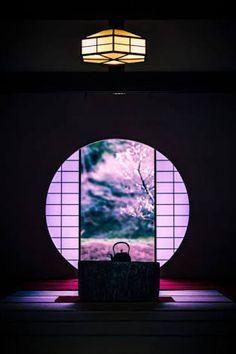 Meigetsu-in is a Rinzai Zen temple, in Kita-Kamakura, Japan: photo by Ichiro Hiura Kamakura, Japanese House, Japanese Art, Traditional Japanese, Art Asiatique, O Gas, Art Japonais, Japanese Culture, Japan Travel