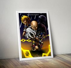 Kingdom Hearts Birth by Sleep 36x24 by FPArtistry on Etsy