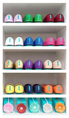 Spring cleaning {noun} - the act of making room for more Tieks in your closet!