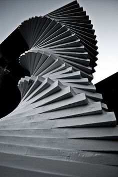 Stairway to heaven. Tsukuba University, Japan