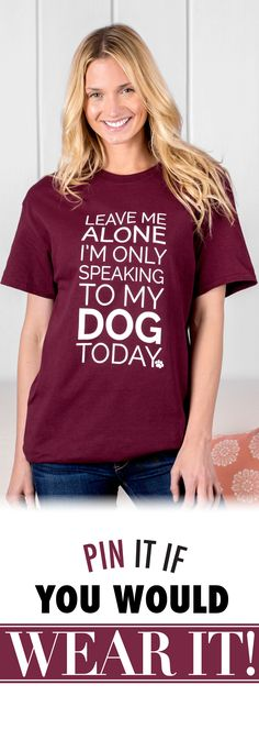 Your furry friend is the best listener on the block, and at times the only one you want to talk to. Our cotton tee is a wry shout-out to your trusted canine companion...the one who never judges, and always has time for a nice long chat.