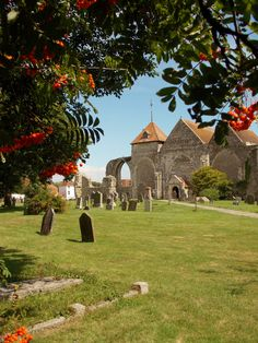 The 12th century church of St Thomas the Martyr in Winchelsea, East Sussex, England, by B Lowe