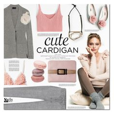 """My Favorite Cardigan"" by barbarela11 ❤ liked on Polyvore featuring Lanvin, H&M, contestentry and mycardi"