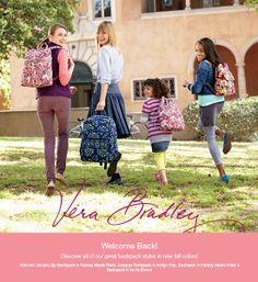 New Backpacks for Fall  2012