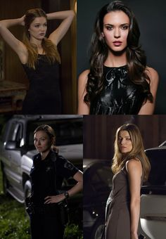 Banshee women; Lili Simmons, Odette Annable, Trieste Kelly Dunn and Ivana Milicevic.