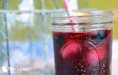 Minted Blueberry Lemonade
