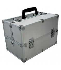 Aluminum Folding Utility Case. Great for random household items, fishing tackle, hobbies, tools, and coin collections.
