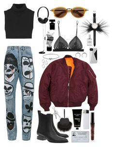 """STREET STYLE"" by mimiih ❤ liked on Polyvore featuring Kenzo, Christopher Kane, Michael Kors, Simone Rocha, Faith Connexion, ASOS, Alexander Wang, Molami, TokyoMilk and Fendi"