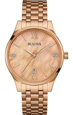 Bulova Relojes   Bulova Colección Primavera/Verano 2016!