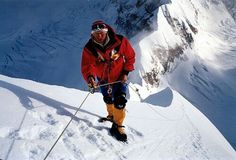 A. Boukreev. The legend of world mountaineering, a man of great and kind heart.