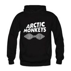 Arctic Monkeys Fashion Hooded Loose Casual Pullover Long-sleeve Sweatshirts High Quality