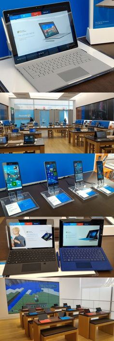 The flagship @microsoft Store opens in New York Oct. 26 featuring the new Surface Book and Surface Pro 4 convertible laptops, the Band 2 wearable, a slew of Lumia smartphones and, oh yes, a @rockcenternyc Pitbull concert. The @microsoftstore at Fifth Ave. and 53rd St. has a Community Theater for events, an Answer Desk for all gadget questions (even Apple!) and a huge Culture Wall LED screen facing Fifth Ave. which will show non-commercial art. The finale: A midnight Halo 5: Guardians launch.