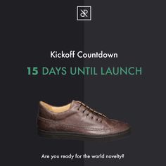 Only 15 days to go – the RUBIROSA kickstarter campaign starts soon! Swiss Design, Leather Sneakers, Innovation, Campaign, Product Launch, Handmade, Leather Court Shoes, Hand Made
