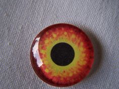 Glass eye handmade jewelry glass