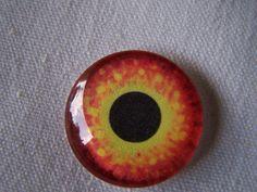 Glass eye handmade jewelry glass