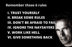 EMSK: Arnold's Six Rules to Success - Imgur
