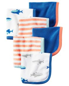 Baby Boy 6-Pack Washcloths | Carters.com