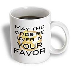 Hunger Games-May the odds be ever In Your Favor Mug