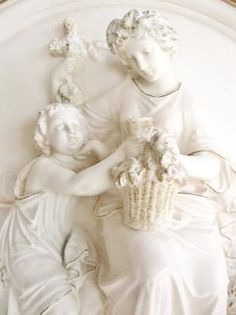 Art detail sculpture of the Madonna, Italy ✿⊱╮