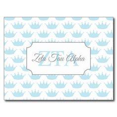 Zeta Tau Alpha Bid Day Card