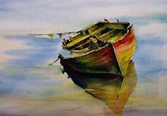 Aquarelles marines - Page 2 - Aquarelle Marichalar Watercolor: