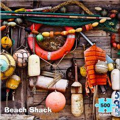 Beach Shack Beach Jigsaw Puzzle