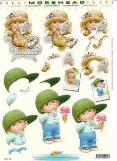 3D 3d Paper, Paper Crafts, Picture Mix, 3d Sheets, Image 3d, 3d Pictures, 3d Craft, Marianne Design, 3d Prints