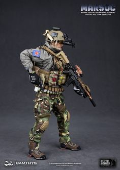 onesixthscalepictures: DAM Toys MARSOC Special Ops Team Operator (Marine Special Operations Regiment) : Latest product news for scale fi.