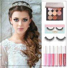 Ojos: Makeup Geek - Wedding Palette. Pestañas: House of Lashes - Bohemian Princess. Labios: Coastal Scents - Smacks Lip Gloss.