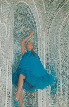 Persian Blue   Vogue  Iran 1969