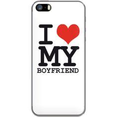 I love my boyfriend Par WAM pour Apple  iPhone 5
