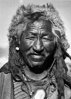 Old Tibetan Kalinka. From Nazi's Tibetexpedition.Photographer Beger, Bruno. 1938