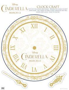 Cinderella: Reloj para aprender la hora