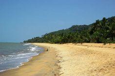 La plage de Rémire-Montjoly, près de CayenneLa commune de R