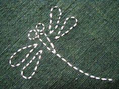 Sashiko - dragonfly