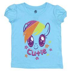 My Little Pony Toddler Girls' T-Shirt, Toddler Girl's