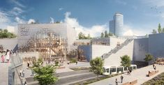 Gallery of Construction Begins on MVRDV's Redesign for Europe's Biggest Urban Shopping Center - 1