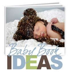 baby book ideas: Take notes and pictures throughout the pregnancy and the first year. Put everything together for a baby book!