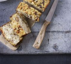 Fennel & chestnut loaf with cranberry relish