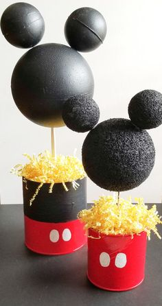 The ultimate way to plan a diy mickey mouse party without spending a lot of money on decorations. I chose to do a lot of the decorating myself!
