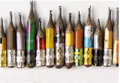 Pencil Sculptures - Dalton Ghetti