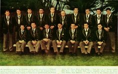 1956 - Blacks 03 / Boks 08 The springbok team that played in the second test. South African Rugby, International Rugby, Logo Design, Graphic Design, African History, Real Men, Logos, Sports, South Africa