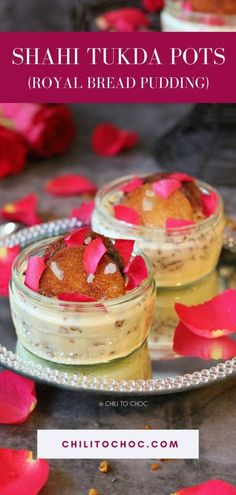 Indian Dessert Recipes, Indian Sweets, Indian Recipes, Eggless Desserts, Easy Desserts, Diwali Food, Dessert In A Jar, Fusion Food, Food To Make