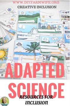Great activities for adapting science for students with special needs in the #inclusion classroom! Check it out on Teachers Pay Teachers!
