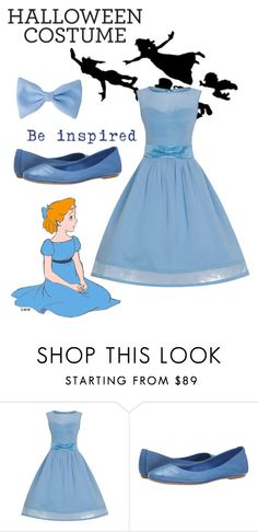 """Wendy Darling Inspired Costume"" by cloudybooks ❤ liked on Polyvore featuring Massimo Matteo"