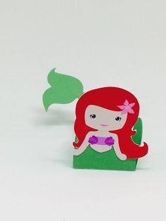 Forminha Pequena Sereia (Ariel)   Madame Lulu   Elo7