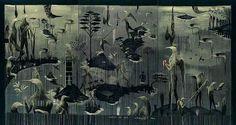 Bill Hammond New Zealand Art, Nz Art, Love Art, Poster Prints, Artist, Painting, Collection, Models, Tattoo