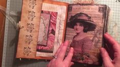 Vintage journal A Rose from you