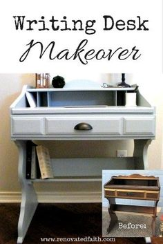 Writing Desk Makeove