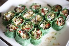 Healthy veggie wraps! #Catering